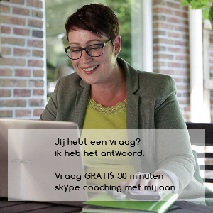 Afbeelding om een gratis skype coaching van 30 minuten aan te vragen.